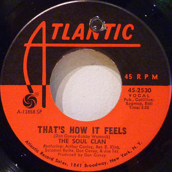 SOUL CLAN - That's How It Feels / Soul Meeting