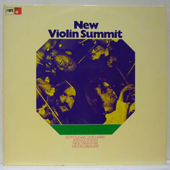 DON SUGARCANE HARRIS / JEAN LUC PONTY / NIPSO BRAN - NEW VIOLIN SUMMIT - LIVE AT THE BERLIN JAZZ FESTIVAL - LP x 2