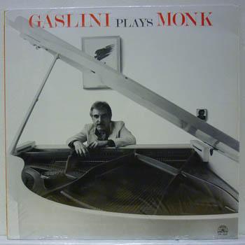 GIORGIO GASLINI - GASLINI PLAYS MONK - LP