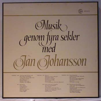 JAN JOHANSSON - MUSIK GENOM FYRA SEKLER - LP x 3