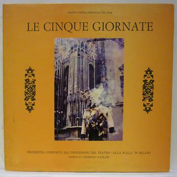 GIORGIO GASLINI - LE CINQUE GIORNATE - LP