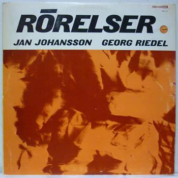 JAN JOHANSSON / GEORG RIEDEL - RÖRELSER - LP