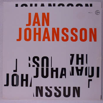 JAN JOHANSSON - 8 BITAR - LP