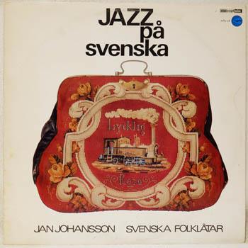 JAN JOHANSSON - JAZZ PÅ SVENSKA - LP