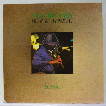 SAM RIVERS - BLACK AFRICA - PERUGIA - LP x 2