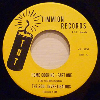 SOUL INVESTIGATORS - Home Cooking Pt 1 & 2