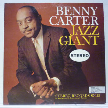 BENNY CARTER - JAZZ GIANT / STEREO - 33T
