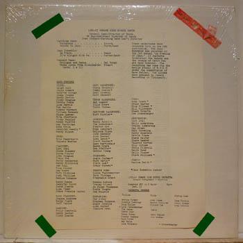 NEWARK HIGH SCHOOL BANDS - 1983 - LP