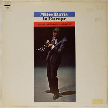 MILES DAVIS - In Europe LP