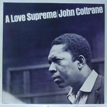JOHN COLTRANE - A Love Supreme Record