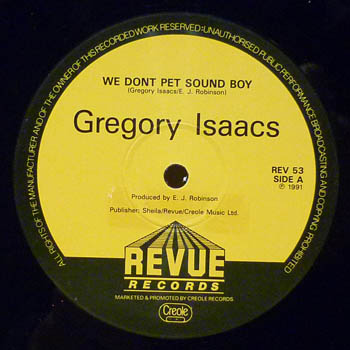 Gregory Isaacs - Watchman Of The City