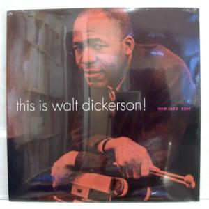 WALT DICKERSON - THIS IS - LP