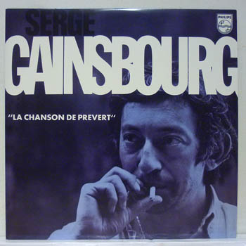 serge gainsbourg la chanson de prevert records vinyl and cds hard to find and out of print. Black Bedroom Furniture Sets. Home Design Ideas