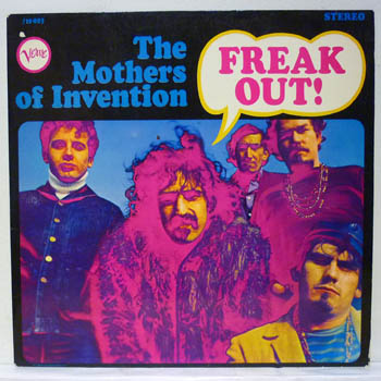 Mothers Of Invention Freak Out Records Lps Vinyl And Cds