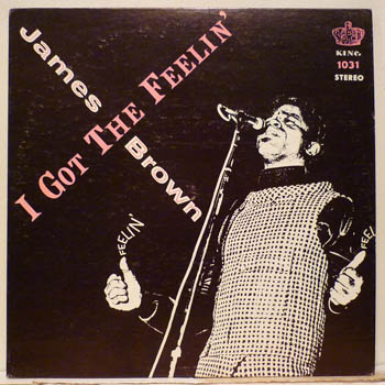 JAMES BROWN - I Got The Feelin' LP