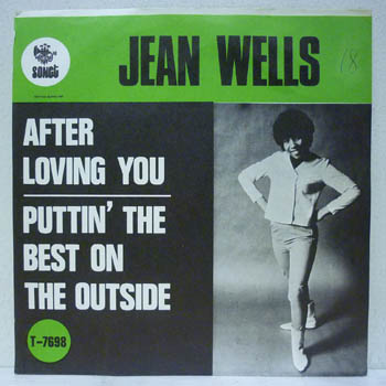 Jean Wells Ease Away A Little Bit At A Time With My Love And What Youve Got We Could Turn The World
