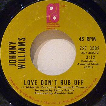 Love Don't Rub Off