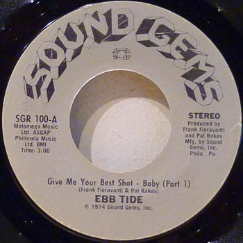 EBB TIDE - Give Me Your Best Shot - Baby