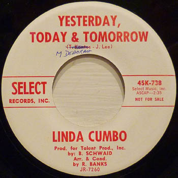 Linda Cumbo Yesterday Today And Tomorrow Did You Ever Lose Your Mind