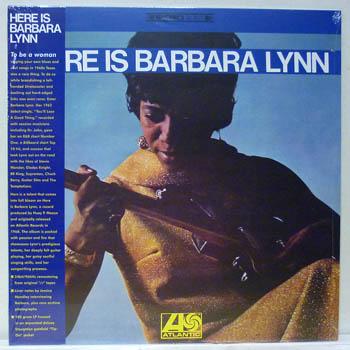 BARBARA LYNN - HERE IS / 180 GRAM - LP
