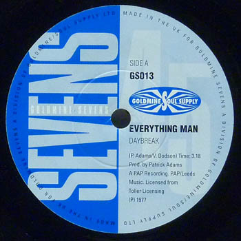 Daybreak / Billy Woods - Everything Man / Let Me Make You Happy