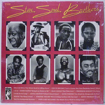 VARIOUS - The Stax Soul Brothers